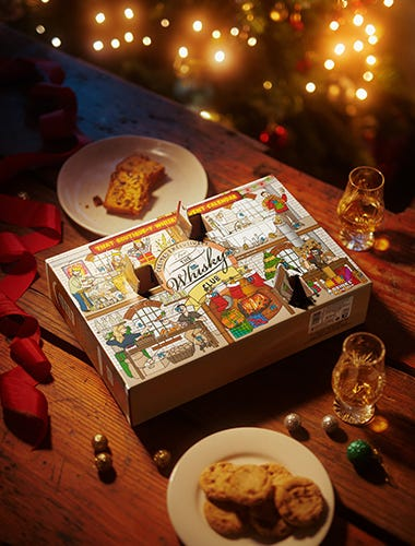 The Whisky Club Advent Calendar 2021 - BUY NOW, SHIPS LATE OCTOBER