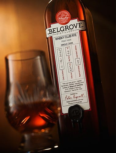 Belgrove Pinot Noir Single Cask