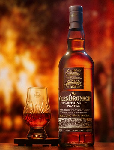 The GlenDronach Traditionally Peated