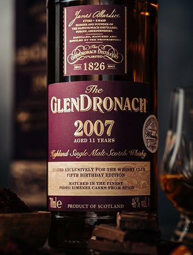 The GlenDronach 2007 Pedro Ximenez Cask