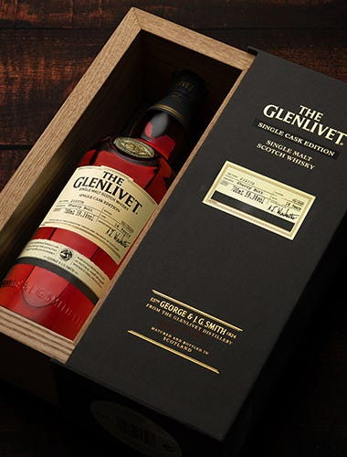 The Glenlivet 14 Year Old First Fill ex-Oloroso Sherry Butt