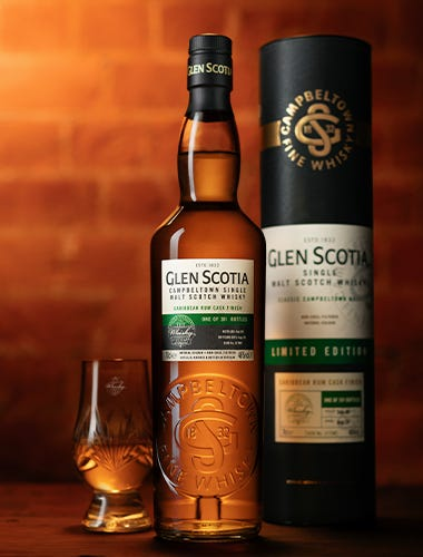 Glen Scotia 2009 Caribbean Rum Cask