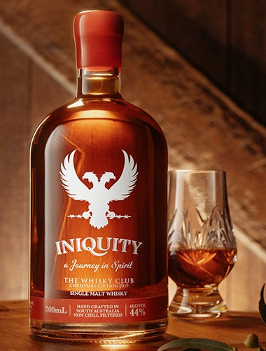 Iniquity Whisky Club Christmas Edition
