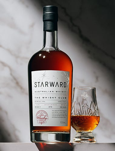 Starward Charred Red Wine Single Cask