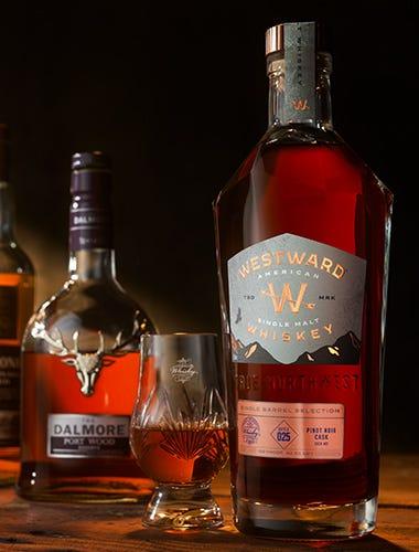 Westward Whiskey Pinot Noir Single Barrel Cask Strength