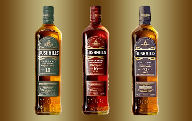 Win The Ultimate Bushmills Prize Pack
