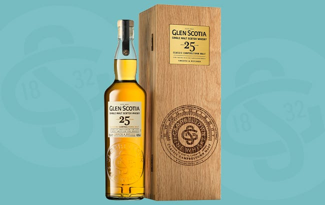 Snag A Bottle of Glen Scotia 25 Year Old