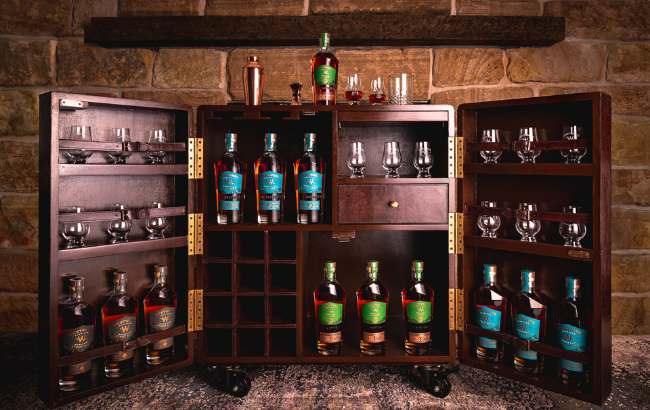 Win a Home Bar Packed Full of Whiskey