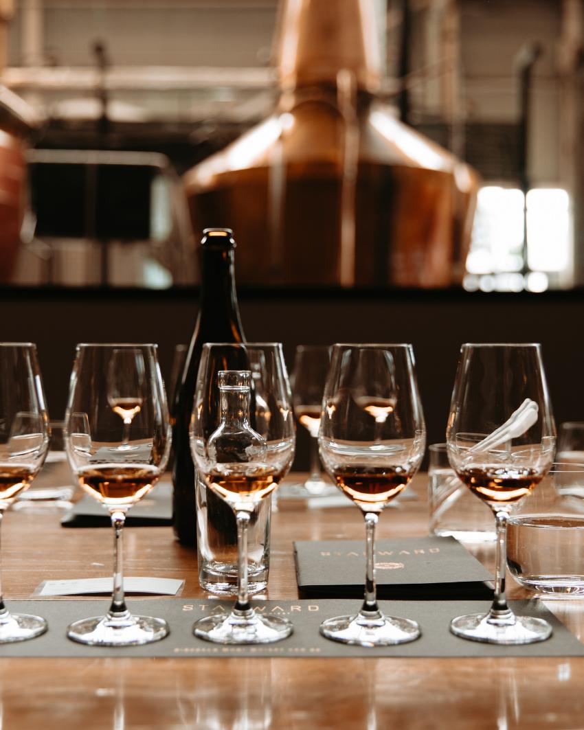 Starward Flight Nights - The History of Whisky