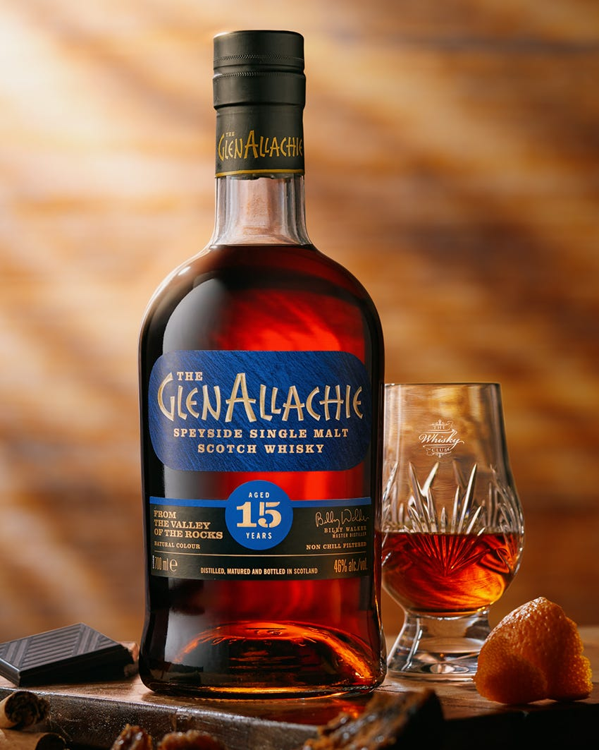 TWC x GlenAllachie 15 Year Old Virtual Tasting