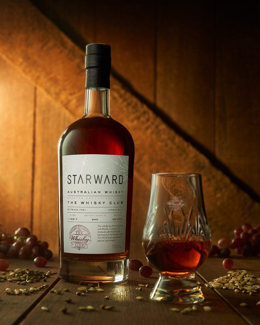 Starward Virtual Club Tasting